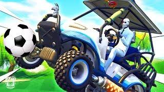 *NEW* ROCKET LEAGUE Custom Gamemode in Fortnite Battle Royale!