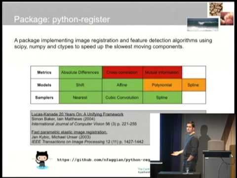 Weather field warping using Python  - Dr  Nathan Faggian