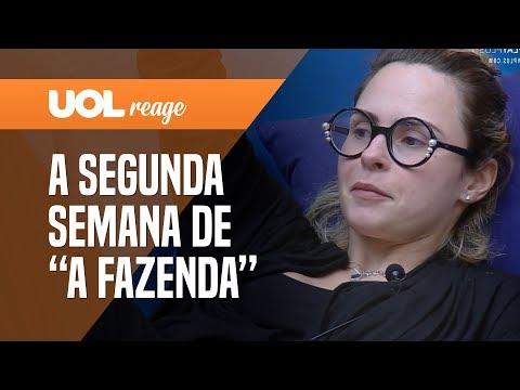 RANHETICE DE ANA PAULA EM A FAZENDA   UOL REAGE