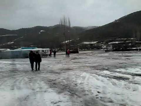 Tashkent snowfall