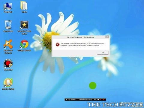 How to Fix D3dx9_43.dll Missing Error | How To Fix Any .DLL Error for All Windows