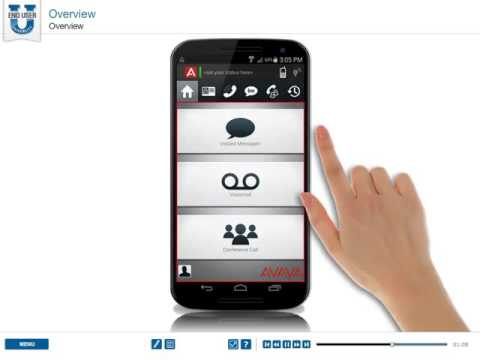 Avaya IP Office Mobile For Android - Overview