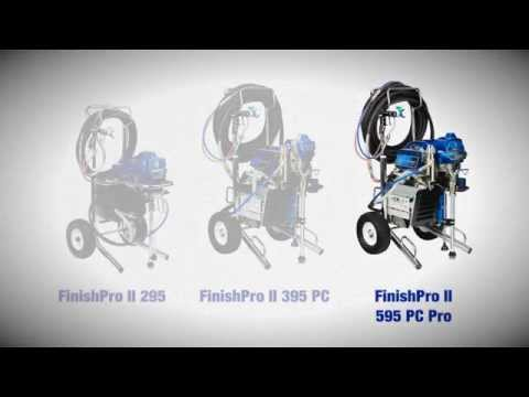 Graco FinishPro II Air-Assisted Airless Sprayers