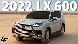 2022 Lexus LX 600 Revealed - Here's Everything we KNOW