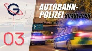 Autobahn Police Simulator FR #3 - PATROUILLE DE NUIT