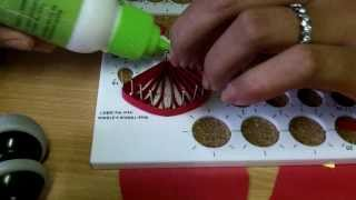 Daisy Quilling Flower and Quilling Board Guide