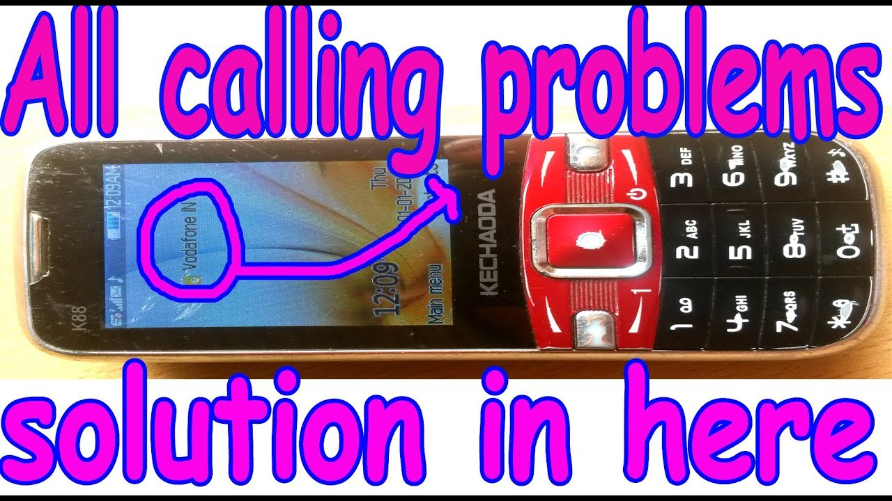 chaina mobile all calling problems solution in 100000 working