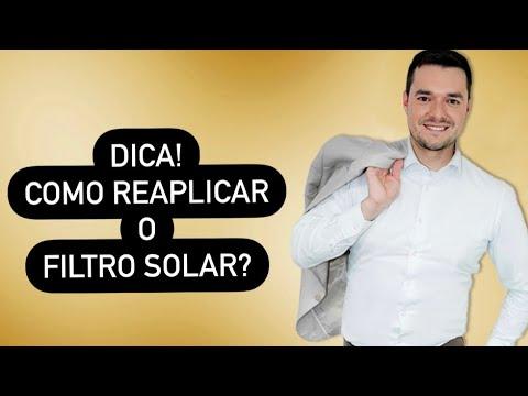 DICA! Como REAPLICAR o FILTRO SOLAR?
