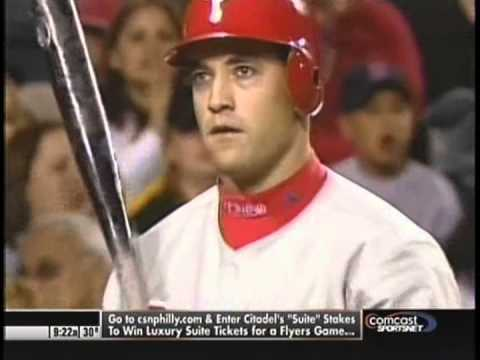 Pat Burrell Career montage from 2008 on CSN