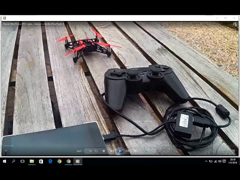 Parrot Mini Drone OTG Cable + Game-Controller PS3