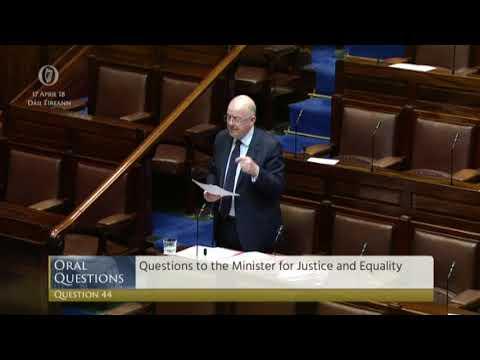 Bobby Aylward TD - Dáil - Garda Numbers