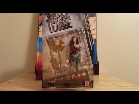 Justice League Movie Wonder Woman Battle-Ready Basic 6 Inch Figure Review 2017