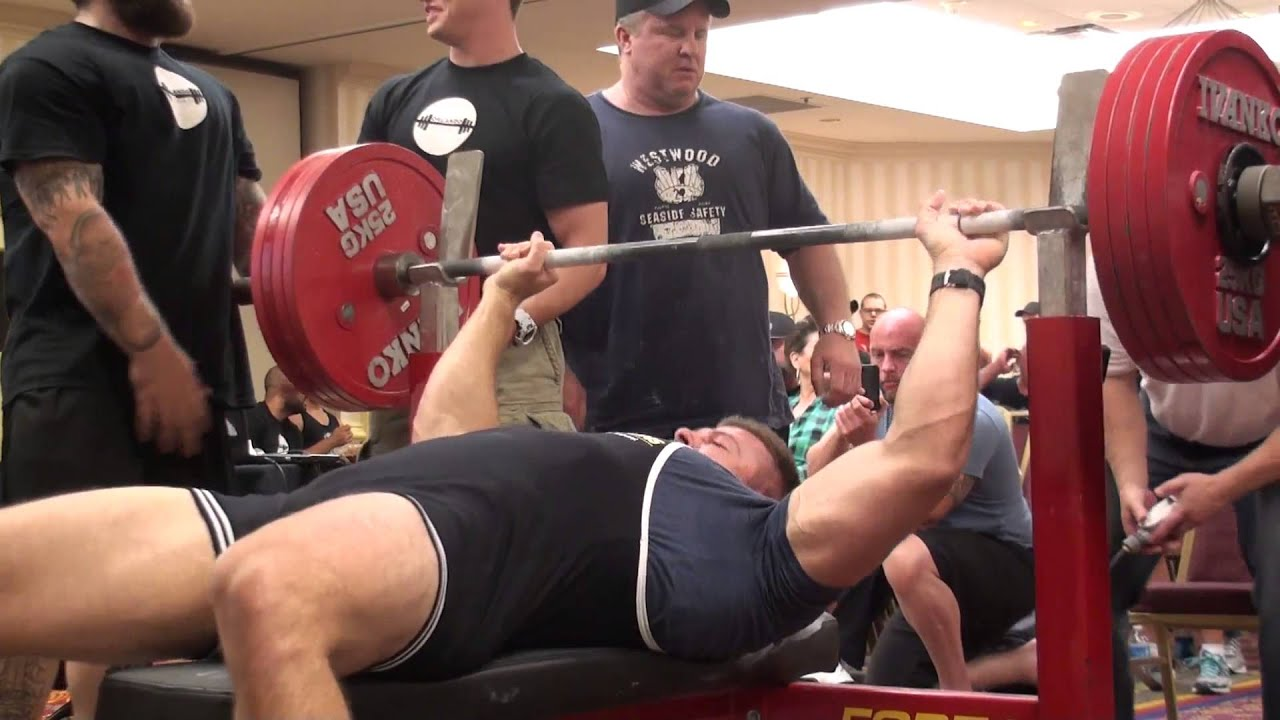Justin Smith Bench Press