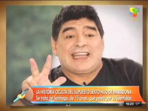 Diego Jr. habló de la aparición de un supuesto sexto hijo de Diego Maradona