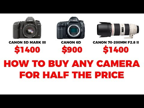 How To Buy Canon Nikon And Sony Cameras For Half The Price