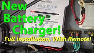 New Battery Charger With Remote! Sea Ray Boat