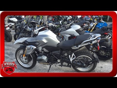 2016 BMW R1200 GS Motorcycle Review