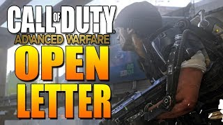 open letter call of duty advanced warfare multiplayer gameplay precautions cod aw