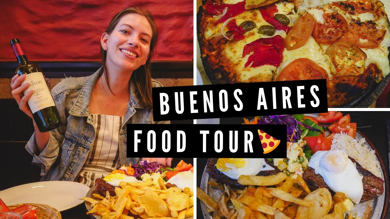 Buenos Aires FOOD TOUR ?   Eating STEAK, PIZZA + MILANESA Before Leaving Argentina ✈️
