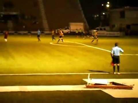 """3er Gol del Carabobo FC vs Dvo. Táchira """"B"""" (Alfredo Padilla)"""