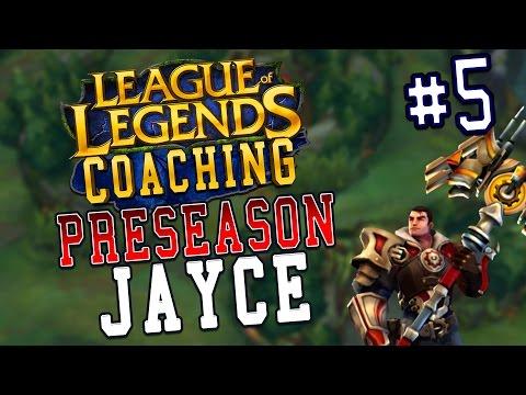 Preseason 7 LoL Coaching #5 - Jayce Top (Silver 4)