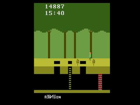 Agent57 playing Pitfall!