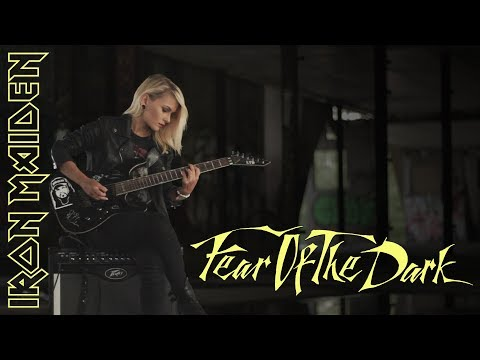 Iron Maiden - Fear of the dark (Janick Gers solo) / ada cover
