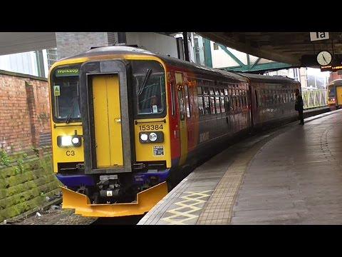 East Midland Trains At Nottingham - Monday 14th December 2015