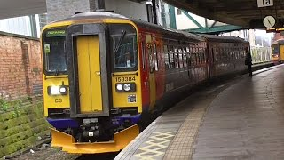 East Midland Trains At Nottingham - Monday 14th December 2015