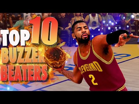 NBA 2K16 TOP 10 BUZZER BEATERS Of The Week #5 ft. Kyrie Irving & Steph Curry