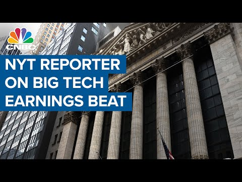 The New York Times reporter sums up Big Tech earnings beats
