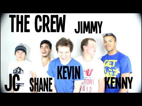 The Crew! Jc Caylen, Shane Gamboa, Jimmy Kenner, and Kevin Ramirez