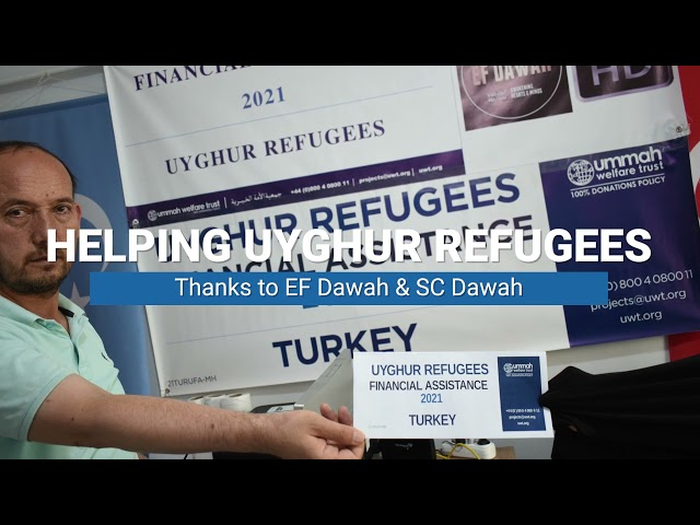 The Fruits of Your Donations   Helping Uyghur Refugees with UWT