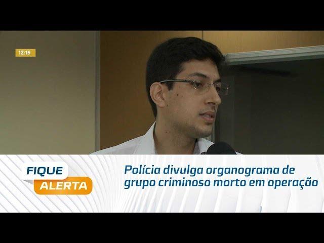 Polícia divulga organograma de grupo criminoso morto em operação no Agreste