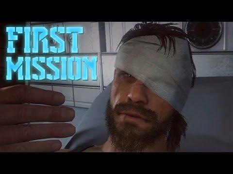 Metal Gear Solid 5 Phantom Pain Part 1 - AWAKENING (MGS5)