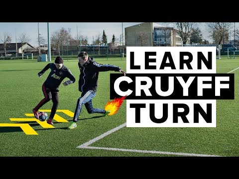 HOW TO DO THE CRUYFF TURN   Learn this simple but deadly football skill