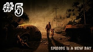The Walking Dead - Episode 1 - Gameplay Walkthrough - Part 5 - ALIVE INSIDE (Xbox 360/PS3/PC) [HD]