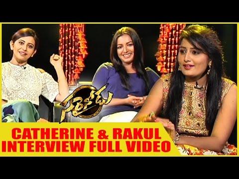Rakul Preet Singh and Catherine Tresa Interview about || Sarrainodu Success  Full Video