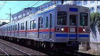 【京成パンダが乗ってる!】京成3600形3668F 3150形牽引に伴う送り込み回送 (3日目)