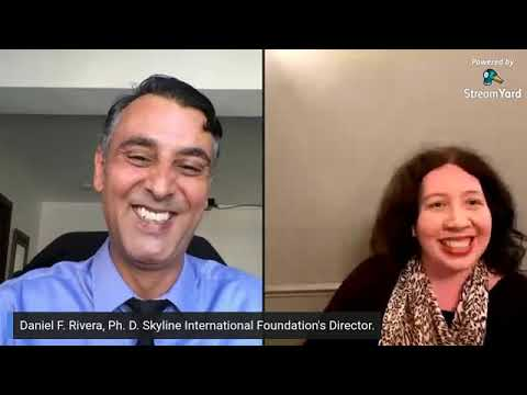 Daniel Rivera of Skyline International Free Speech organisation, live with Radha Stirling