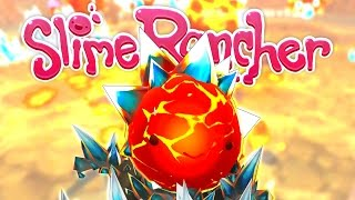 Deadly Crystal Slime and Volcano Cave Exploration! - Slime Rancher Gameplay