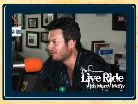 Blake Shelton on The Live Ride with Marty McFly