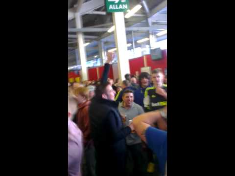 Peter Odemwingie song at Cardiff away