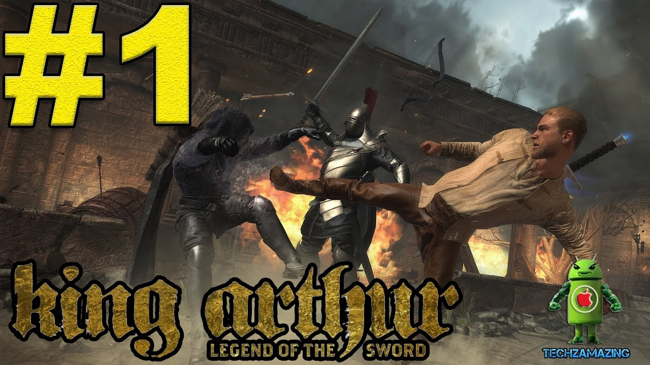 King Arthur Legend Of The Sword Gameplay Ios Android Mobile Video Youtube