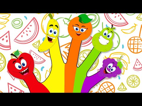 Fruit Finger Family हिंदी मे | फल गीत | HooplaKidz Hindi