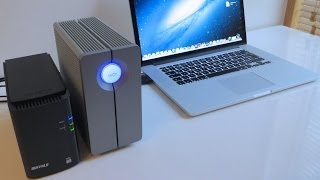 6TB RAID Drives Thunderbolt vs USB 3.0 Speed Test / Lacie vs Buffalo