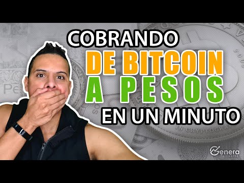 Como Cambiar Bitcoin A Dinero Real En Menos De 1 Minuto