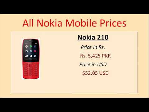 All Nokia Mobile Price Pakistan January 2020 Price List Nokia Mobile Phones Nokia Mobile Prices