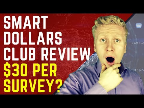 SMART DOLLARS CLUB REVIEW: Can You REALLY Make $30 Per Survey?