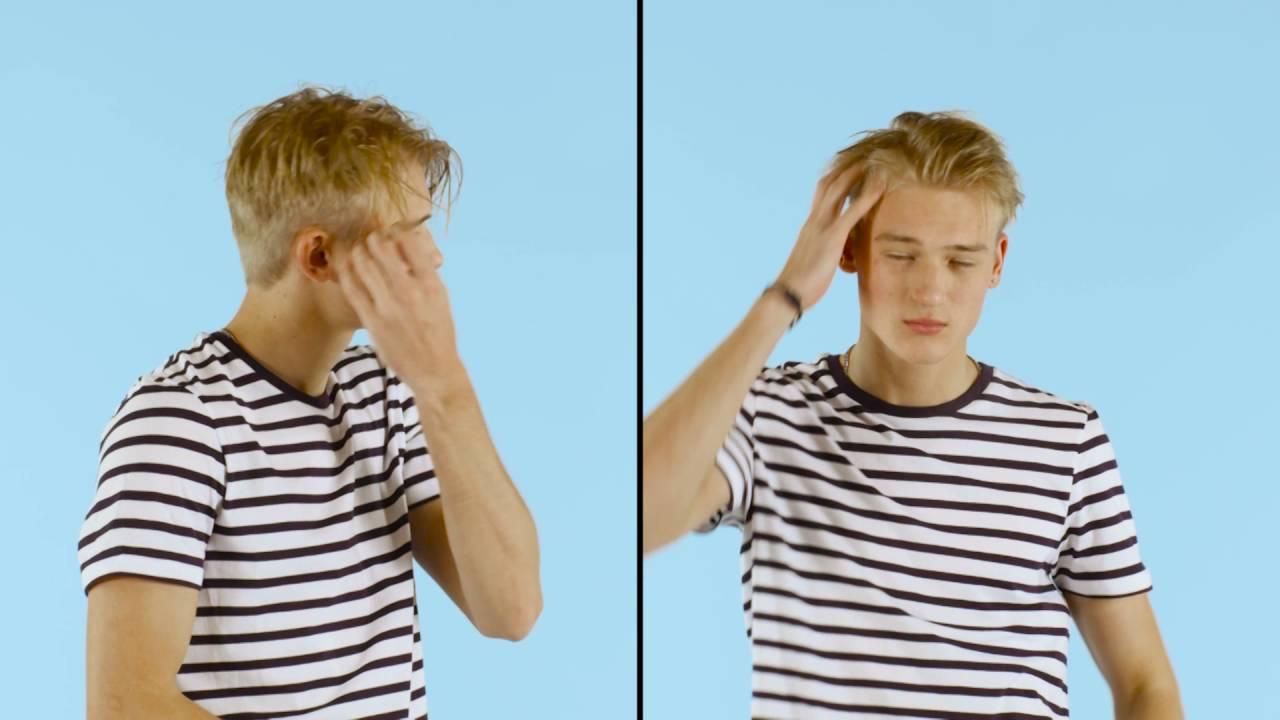 Cheveux fin sans volume homme